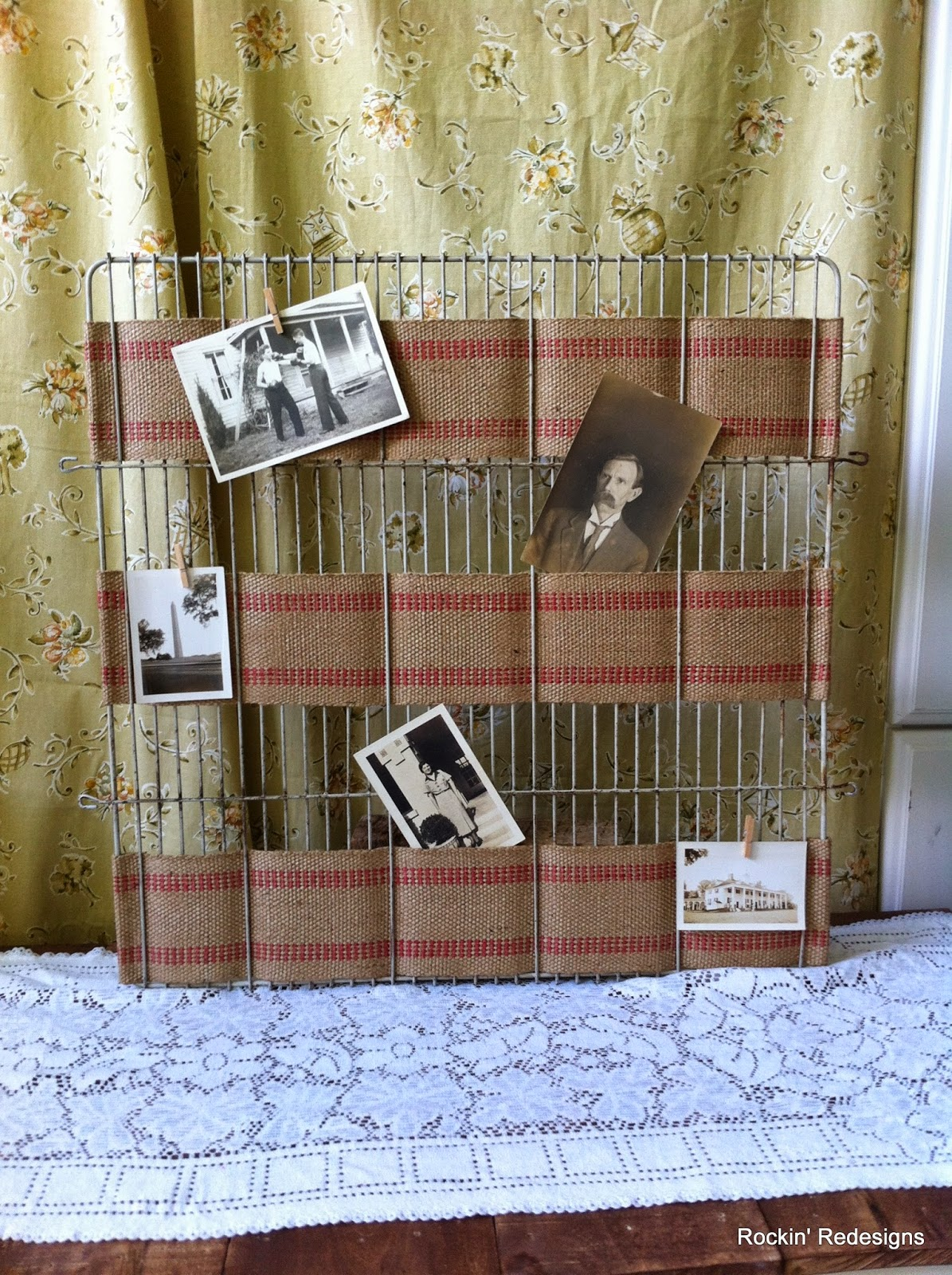 Repurposed Memo Board