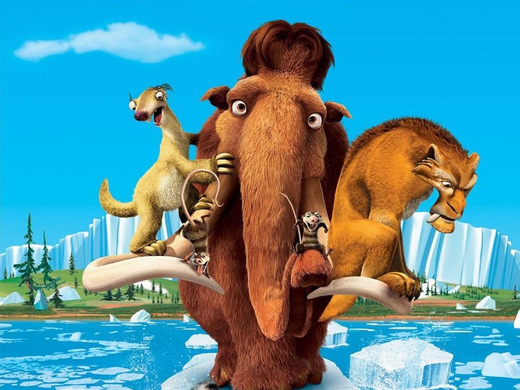 Descargar La era del hielo 4 Caratula Poster DVD