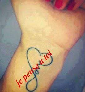 Message d'amour je pense à toi mon chéri