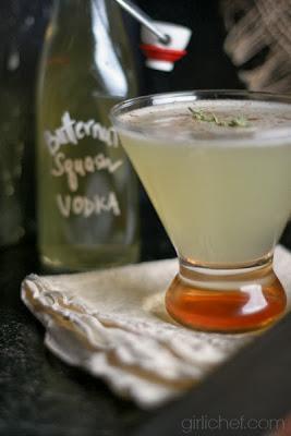 Winter Squash {cocktail} | www.girlichef.com