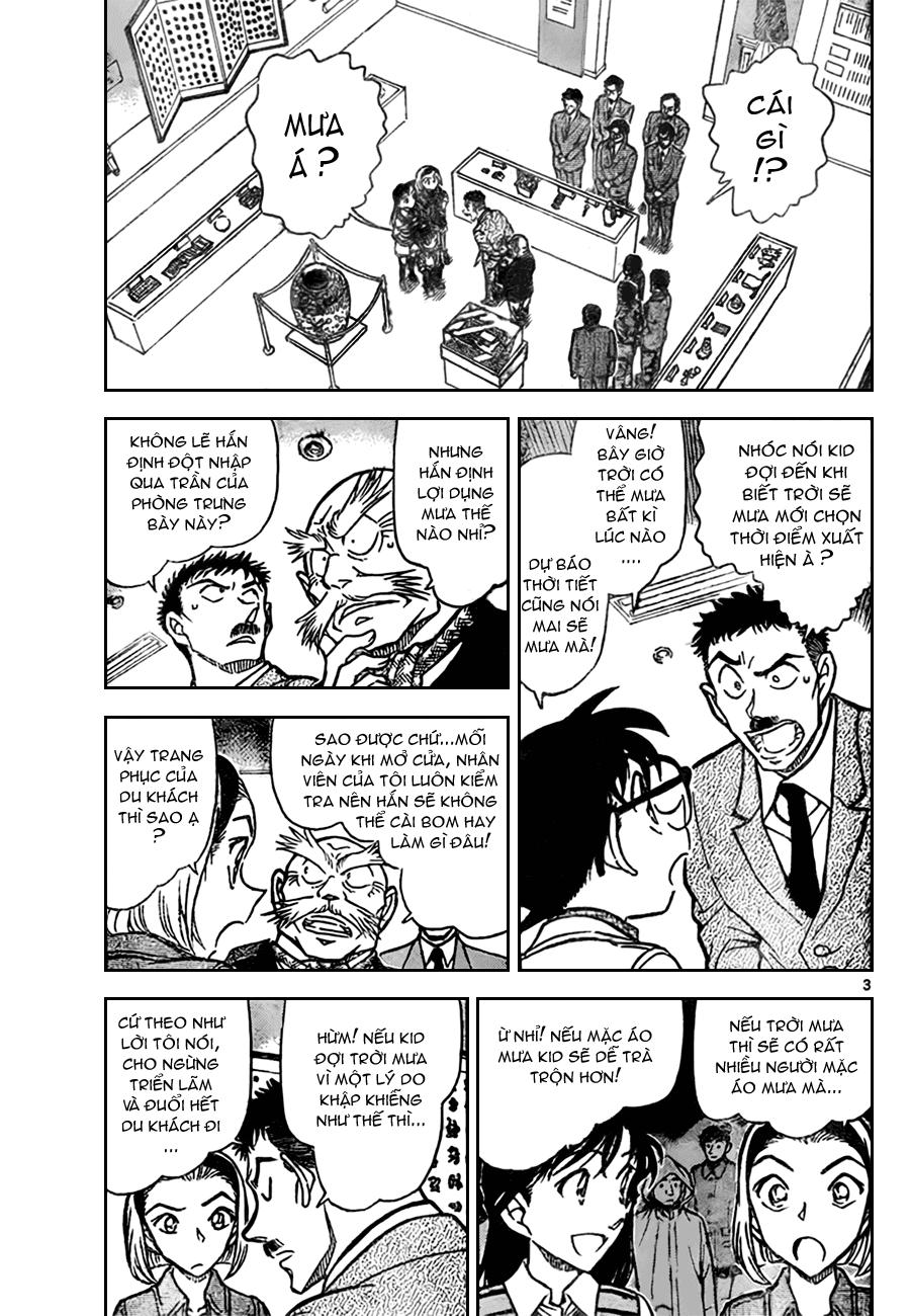 Detective Conan - Thám Tử Lừng Danh Conan chap 732 page 3 - IZTruyenTranh.com