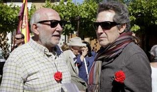 Miguel Ríos y Álvaro de Luna han mostrado su apoto al PSOE
