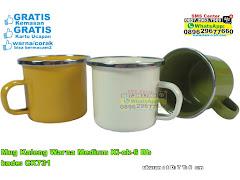 Mug Kaleng Warna Medium Kick6 Bb
