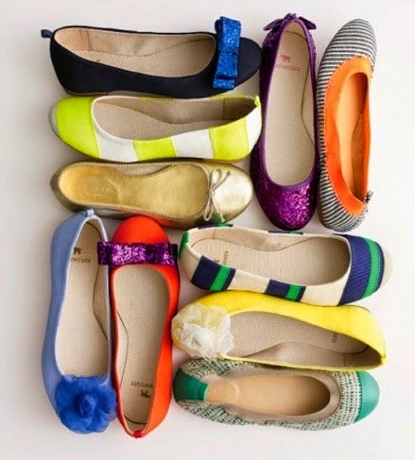 Zapatos, bailarinas, selección