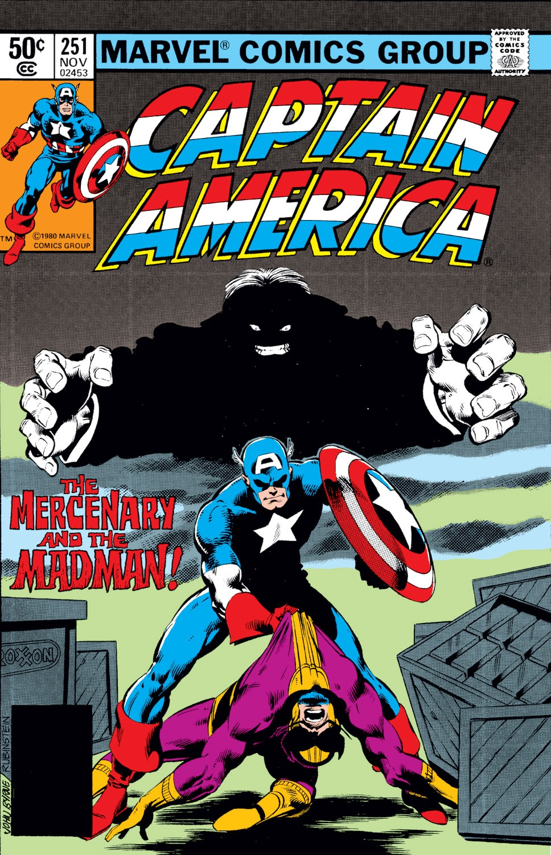 Captain America (1968) Issue #251 #166 - English 1