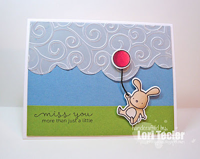 Miss You More than Just a Little card-designed by Lori Tecler/Inking Aloud-stamps and dies from Mama Elephant