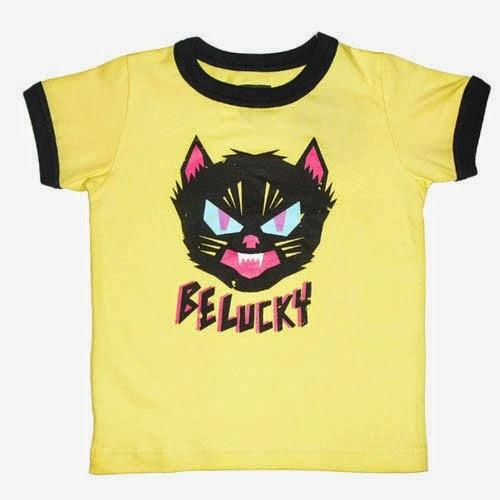camiseta moderna niño