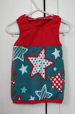 Freebook, Minisun, aefflyns, Shirt, Top, Stoffwelten, Stars, Sterne