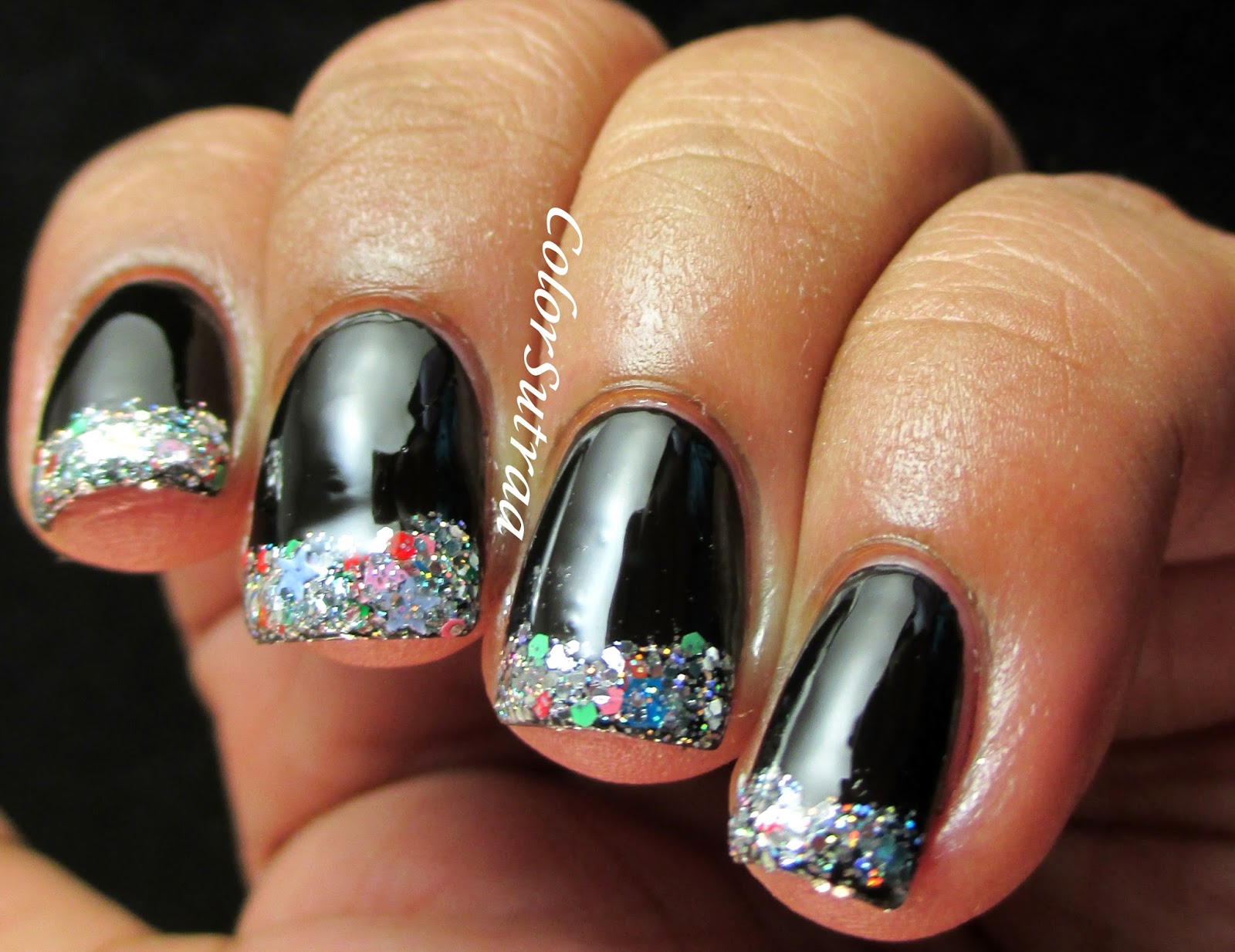 LYNNDERELLA Silvery Sweeties : Nail Art and Review - ColorSutraa