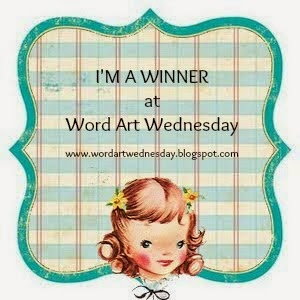 Word Art Wednesday Winner Badge
