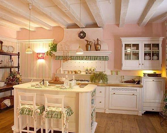 lampadari stile provenzale : Cipria Retro: Cucine Shabby Chic e provenzali