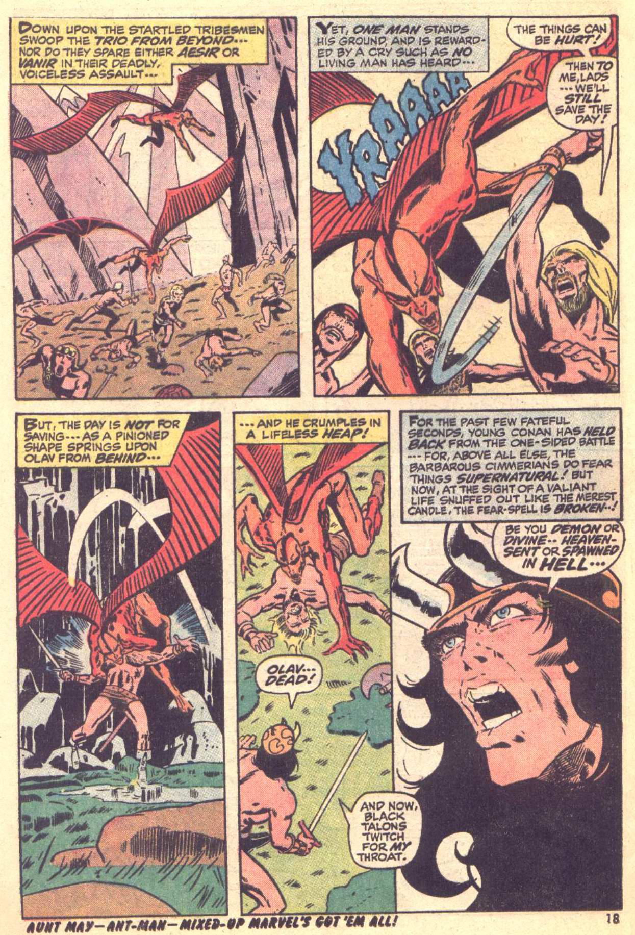 Conan the Barbarian (1970) Issue #22 #34 - English 13