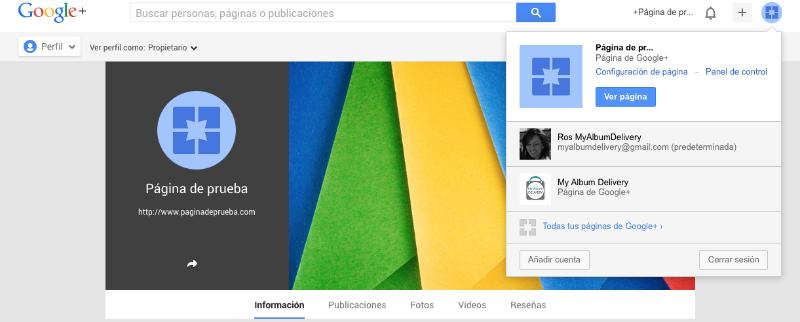 Cómo crear la página para tu empresa de Google Plus