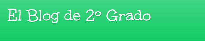 Blog de 2 Grado
