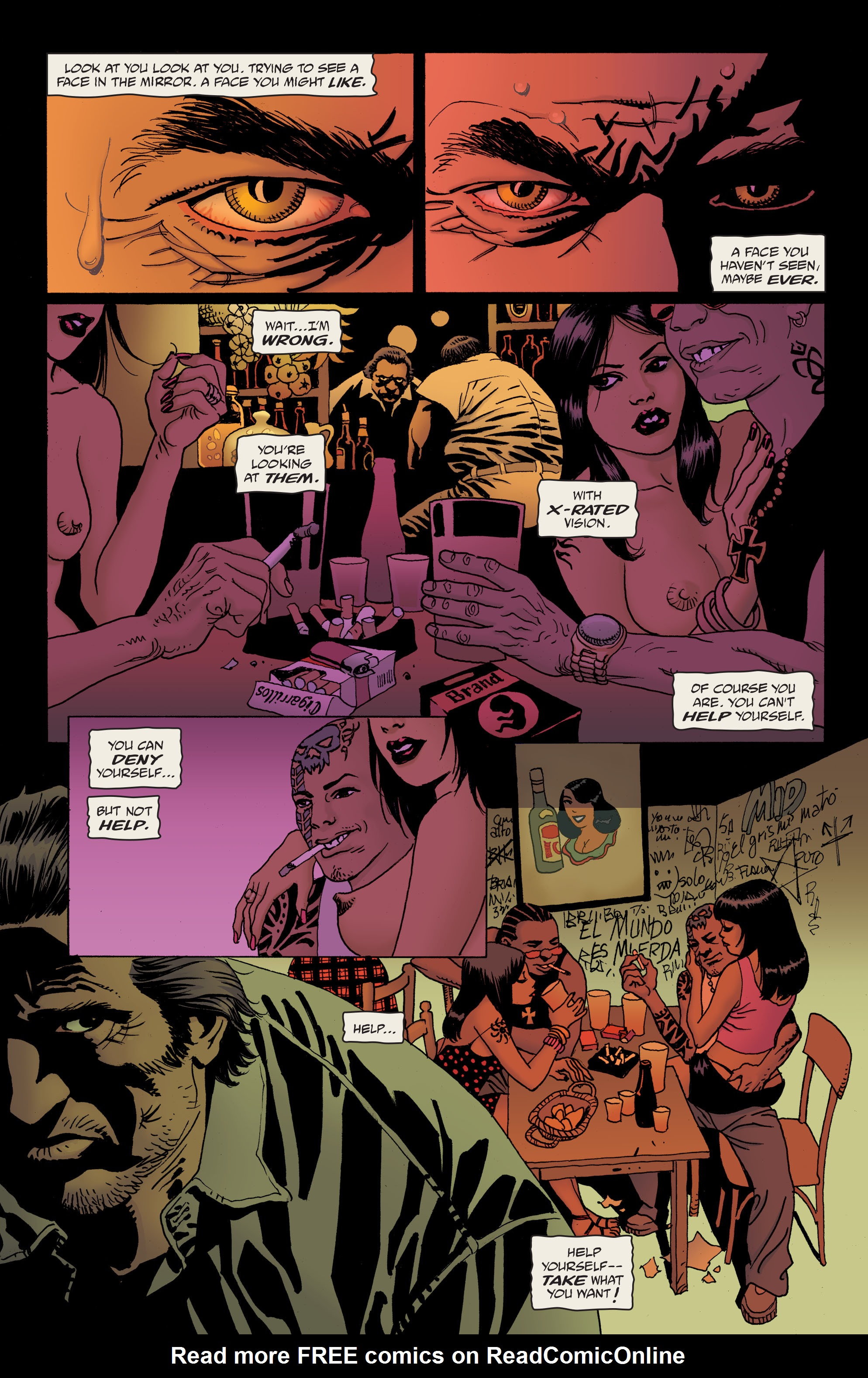 100 Bullets: Brother Lono Full Page 48