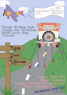 Ripon Does Vintage Wedding Fair