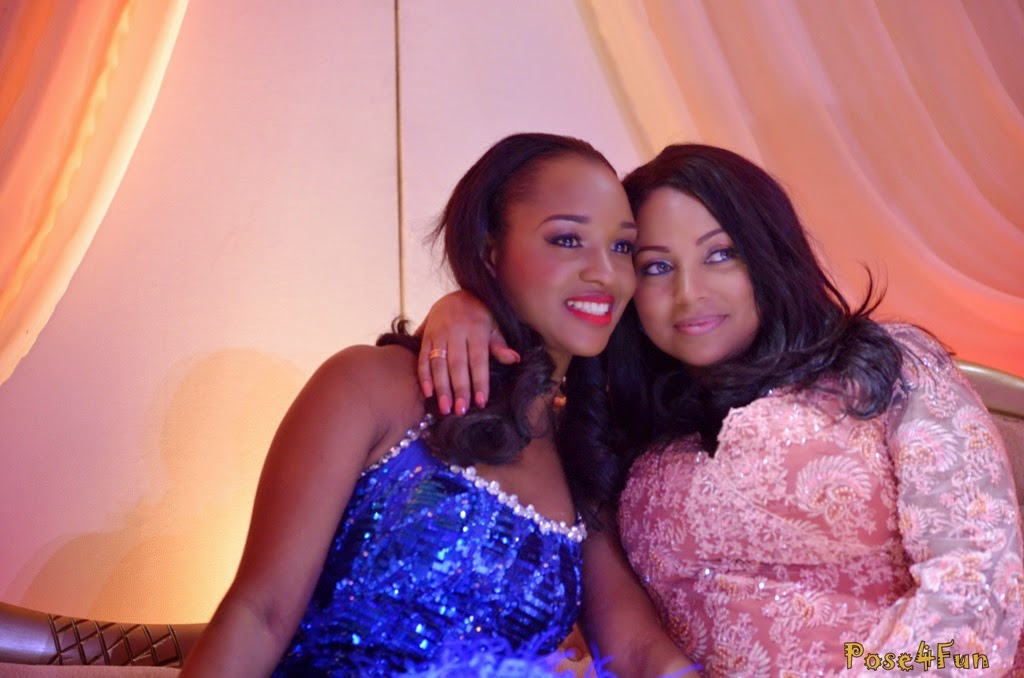 The Wives Of P Square Paul And Peter Okoye