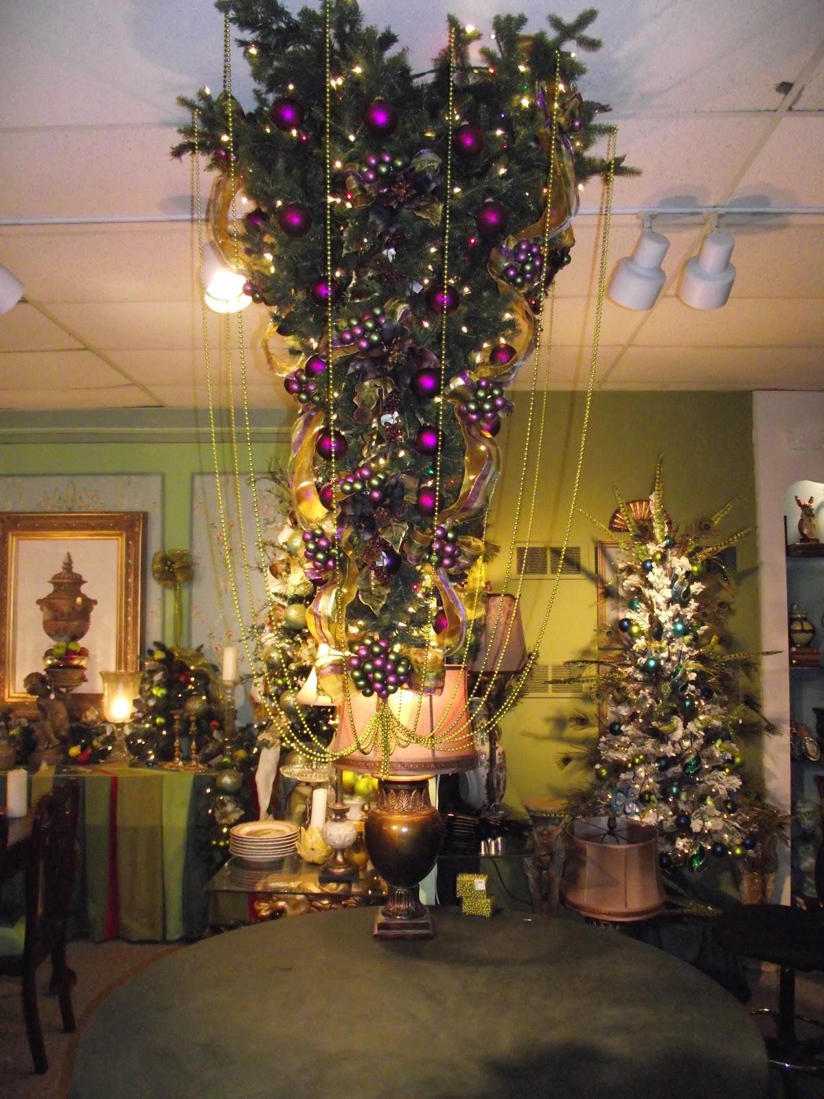 Ribbon Around Christmas Tree
