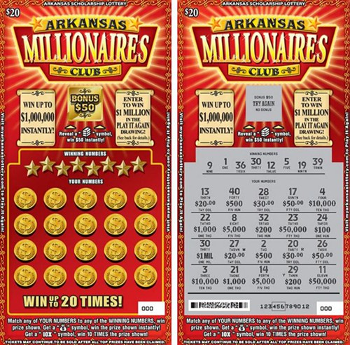 how to read lotto ticket