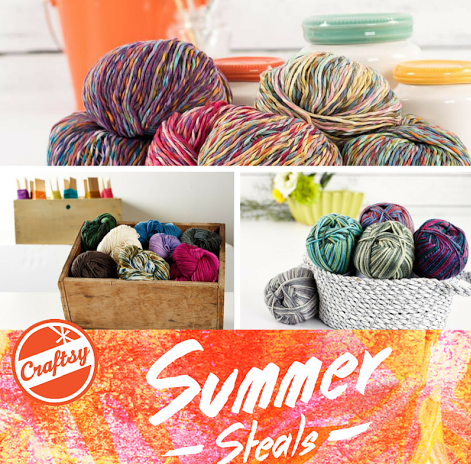 Craftsy Yarn Sale Up to 70% off