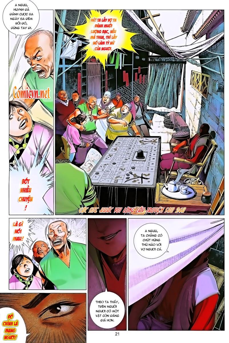 Phong Vân chap 643 Trang 21 - Mangak.info