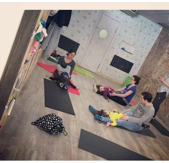 Taller ioga&família