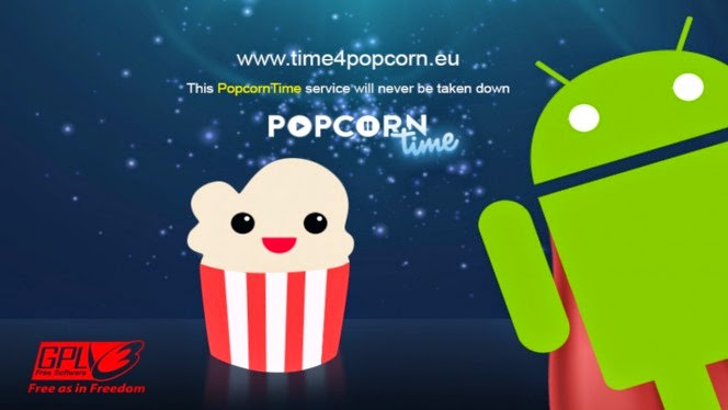 Popcorn Time para Android