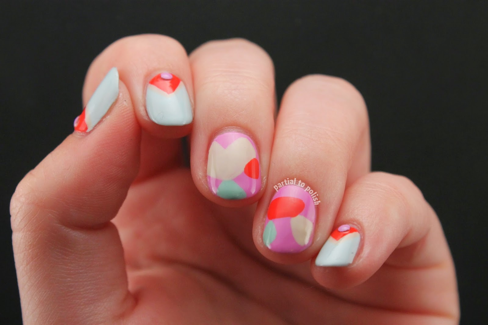 Born Pretty Store Pastel Stud Review & Mr. Candiipants Nail Art
