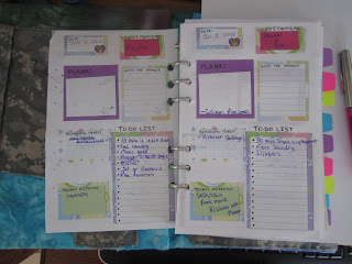 That Crazy American Housewife Day 26 Planner Pt 2 The
