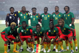leones indomables,camerun