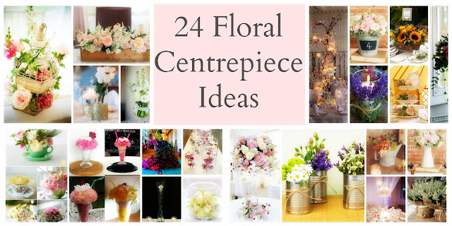 Wedding Decorations | Floral Centrepiece Ideas