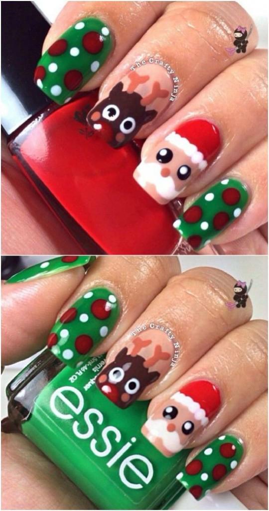 Christmas Nail Art Designs 2016   Splendid Wedding Company