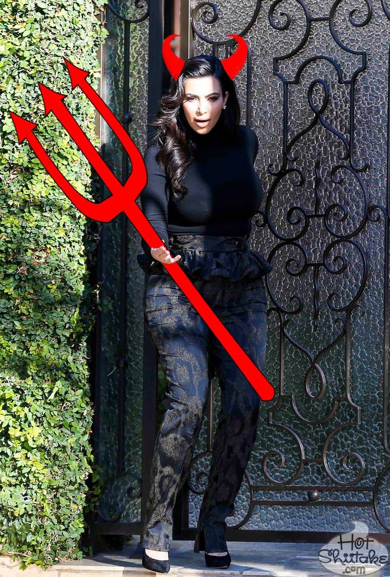 Kim Kardashian Devil