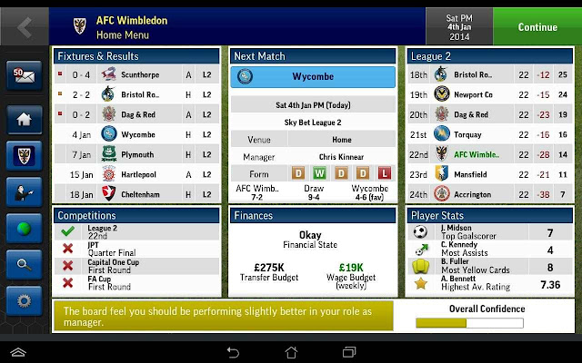 Football Manager Handheld 2015 Android Full Apk İndir
