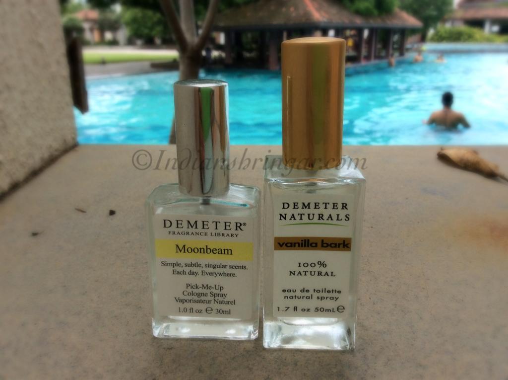 Demeter Fragrance Library Moonbeam and Vanilla Bark