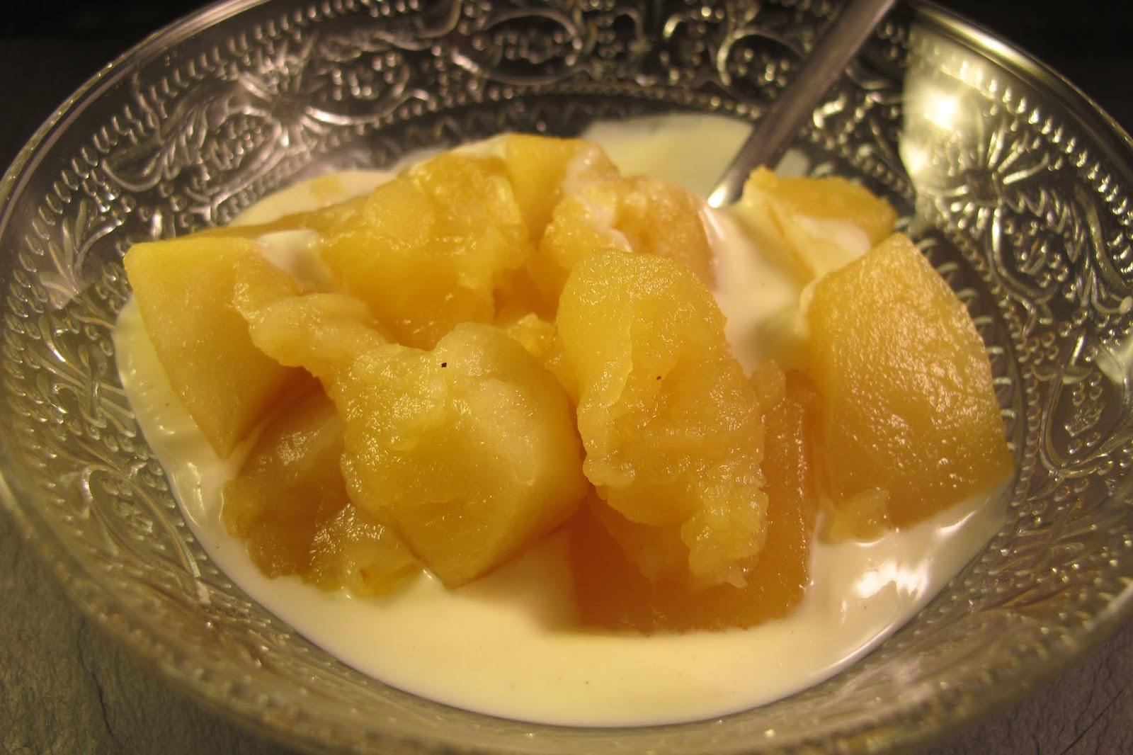Le blog de cuisine en bouche compote de pommes maison - Compote de poire maison ...