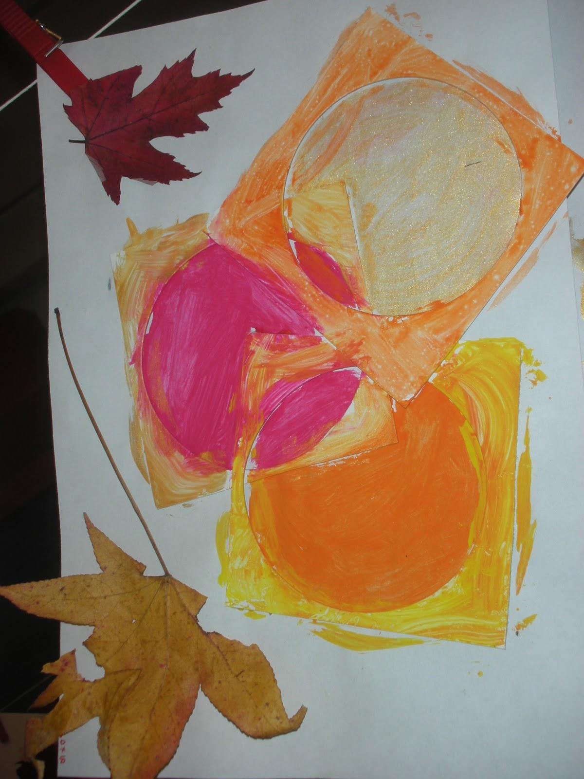 Maestra Laura: PROGETTO ARTE: COLORI D'AUTUNNO - photo#36