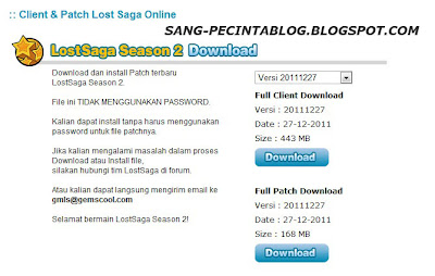 download lost saga season 2 terbaru indonesia gemscool rilis 27