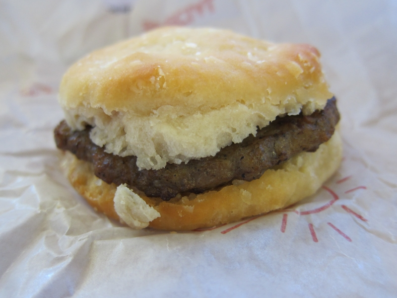 Wendy's Sausage Biscuit is on the Everyday Breakfast Value Menu of ...