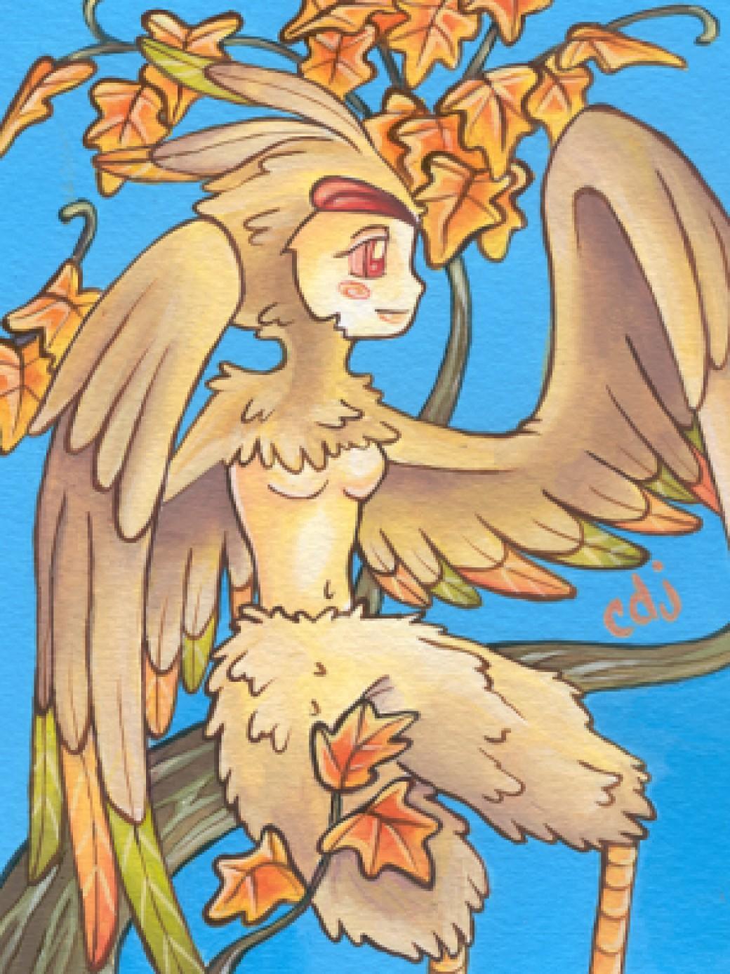harpy card por kaorishima