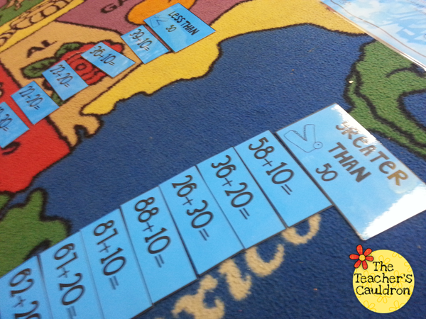 Thanksgiving, adding tens, and Cracker Jacks! - Teacher by the Beach