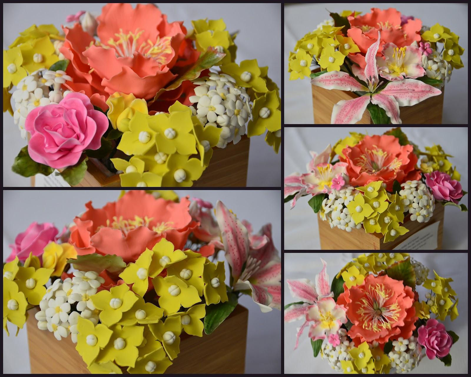 Pin Labels Gumpaste Flower Wedding Cake on Pinterest