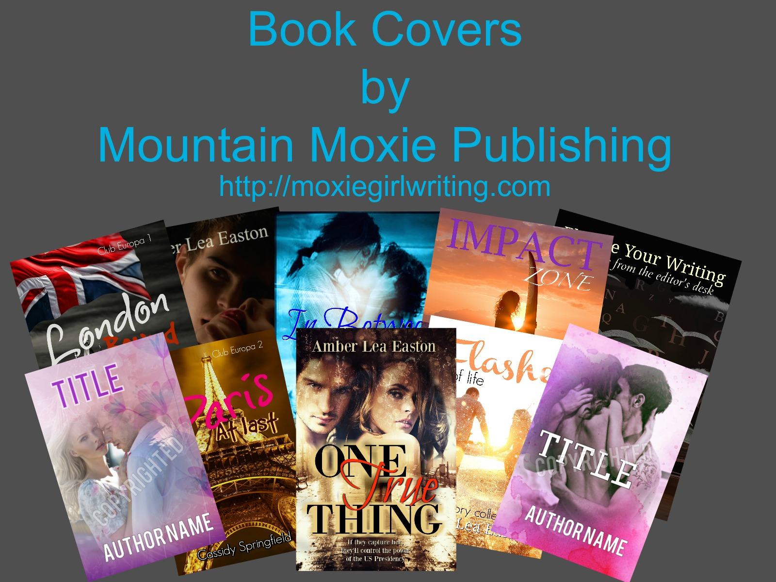 Pre-Made Covers--with a bit extra included! Check out Mountain Moxie