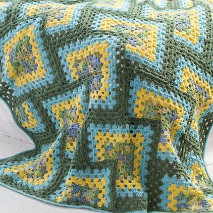 Crochet Granny Afghan - Free Pattern