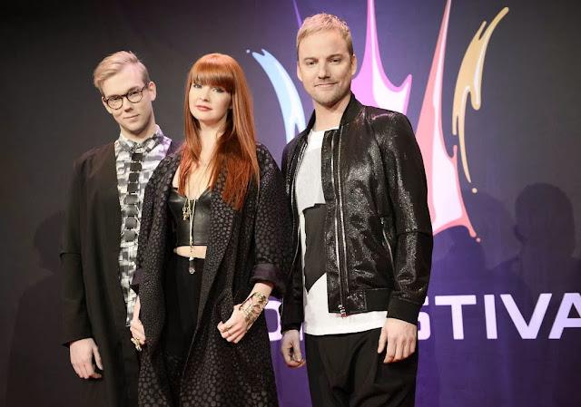 Melodifestivalen passerkortshalsbandet