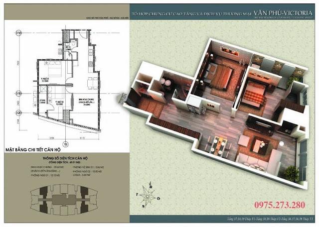 Bán cư xá Văn Phú Victoria căn 02 , 08 , 12 , 18