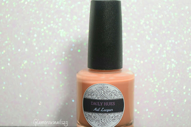 "Daily Hues Nail Lacquer ""Shimmer Orange"""
