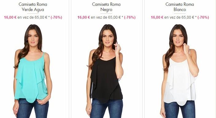 Camiseta modelo Roma