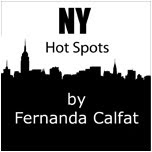 NY Hot Spots by Fernanda Calfat