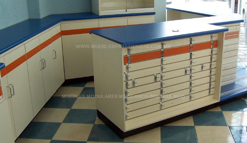 Muebles de oficina muebles de madera mobiliario de - Mostradores para oficinas ...